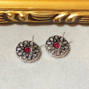Sunny Blossom Colour Stud Earrings