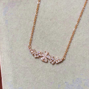 The Cherry Blossom Rose Gold Necklace