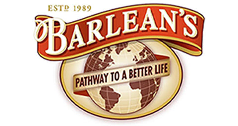 Barlean's Logo Mark with caption Pathway to a better life