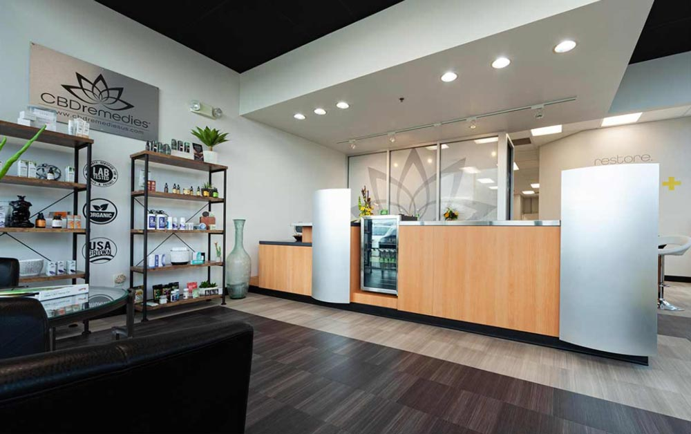 South CBD Remedies Front Counter and Store