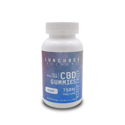 Lunchbox Alchemy 750mg Gummies Squib Sleep Full Spectrum CBD Hemp Extract Gummies