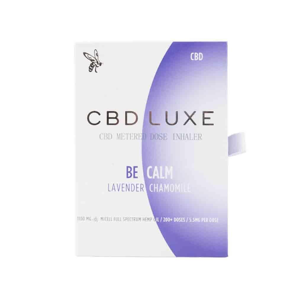 CBD Luxe - Calm Micell Nano CBD Inhaler - Full Spectrum Hemp Extract - 1100mg