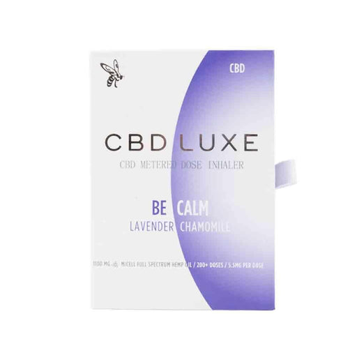 CBD Luxe Calm Full Spectrum Hemp Extract Micell Nano CBD Inhaler