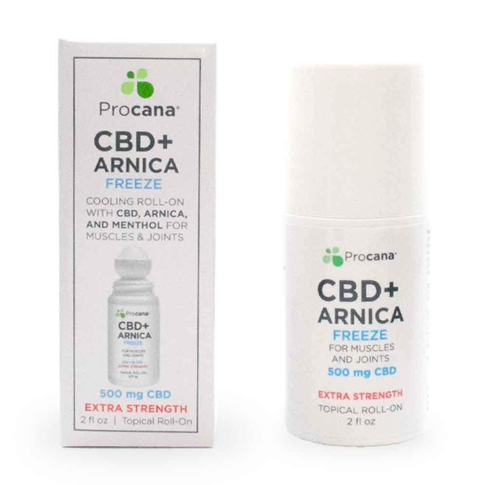 Procana Freeze Roll-On Full Spectrum CBD Hemp Extract Topical