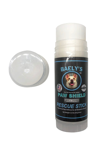Image of Baely's Paw Shield Rescue Stick - Helps Heal Dry, Raw and Cracked Paws