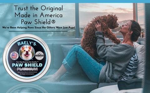 Dog Paw Balm - Trust the Original Paw Shield Made in America Relief for Raw Dry Rough Paws| Wax Protector for Mushers | Secret All-Natural Relief for Hot and Cold Paws