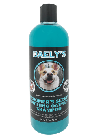 Natural Dog Shampoo with Oatmeal and Aloe by Baely's Groomer's Secret - Soothing Dog Shampoo