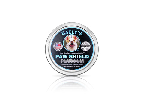 Image of Dog Paw Balm - Trust the Original Paw Shield Made in America Relief for Raw Dry Rough Paws| Wax Protector for Mushers | Secret All-Natural Relief for Hot and Cold Paws