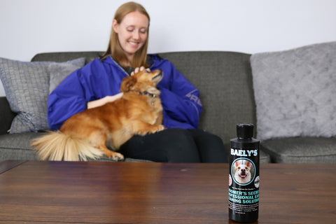 Image of Natural Dog Ear Cleaner and Dog Ear Wash - Alcohol Free Formula - by Baely's