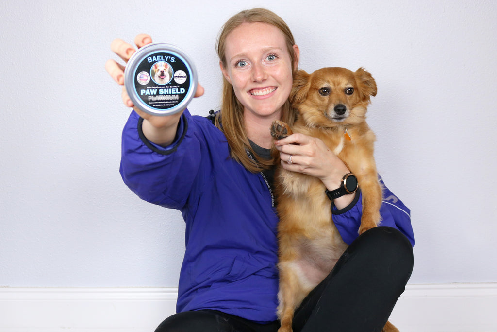 Baely's Paw Shield - Our Dog Paw Balm is Rated Higher than Mushers Secret - Two Pack