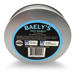 Baely's Paw Shield Summer Paw Protection Bundle | 2 Full Size Containers of Baely's Paw Shield | Moisturizes and Helps to Protect Paws from Heat
