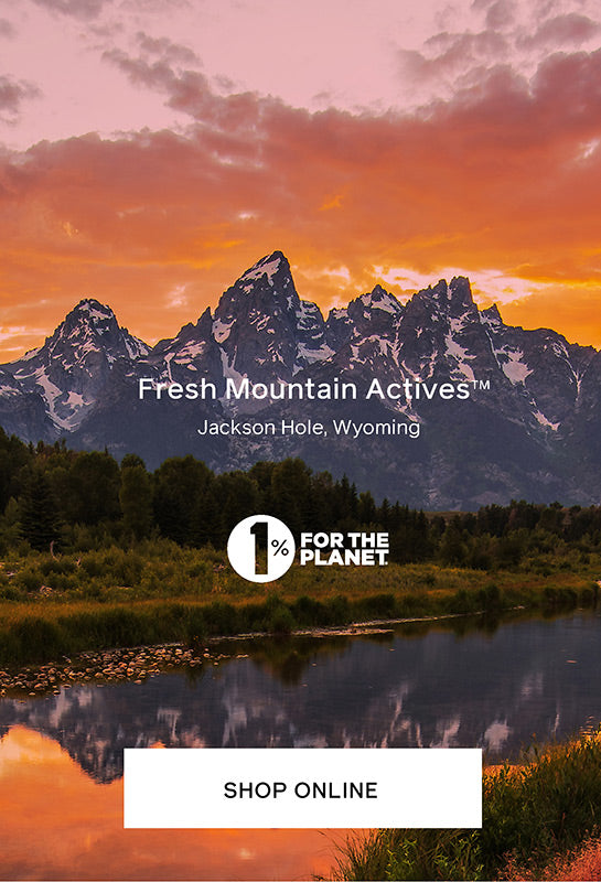 Fresh Mountain Actives skincare