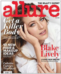 Allure cover shot
