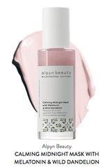 Calming Midnight Mask With Melatonin & Dandelion by Alpyn Beauty #4