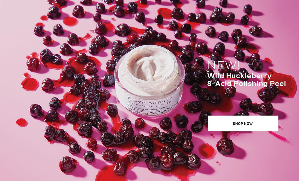 Alpyn Huckleberry Polishing Peel