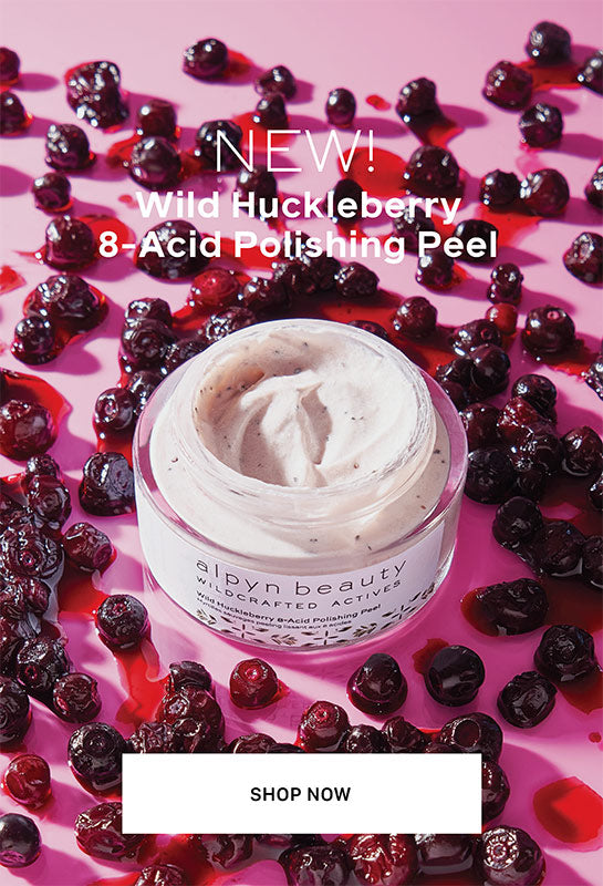 Wild Huckleberry Peel