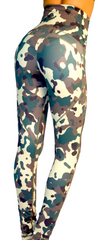 Camouflage (Camo)  print  ultra cinch Yoga pants