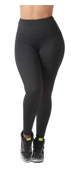 "Mama Cinch ""Ultimate Sculpt"" Yoga Pant: Black"
