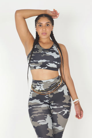 """In The Army"" 2 Piece Yoga Set"