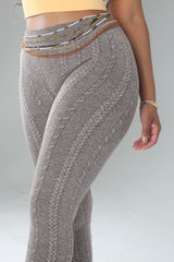 """Knitty"" Yoga Pant"