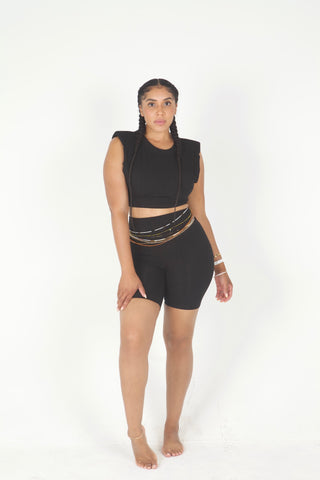 Shoulder to Shoulder Short Set