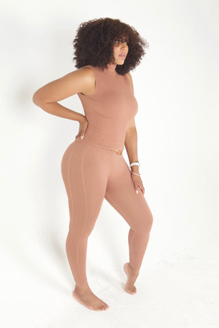 """Nudist"" Seamless Set"