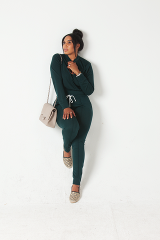 Rich Mama : Athleisure SweatSuit Set