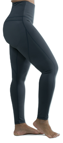 "Mama Cinch ""Ultimate Sculpt""  Yoga Pant: Grey"