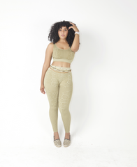 Python Passion High Waist Leggings Set