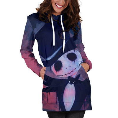 aa512b9c8de ... CreatedOn Disney. Jack Skellington Hoodie Dress 4