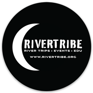 "Rivertribe Outdoors 3"" Die Cut Sticker"