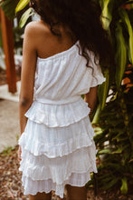 Load image into Gallery viewer, Hannah Shania Ruffle Dress - Ivory