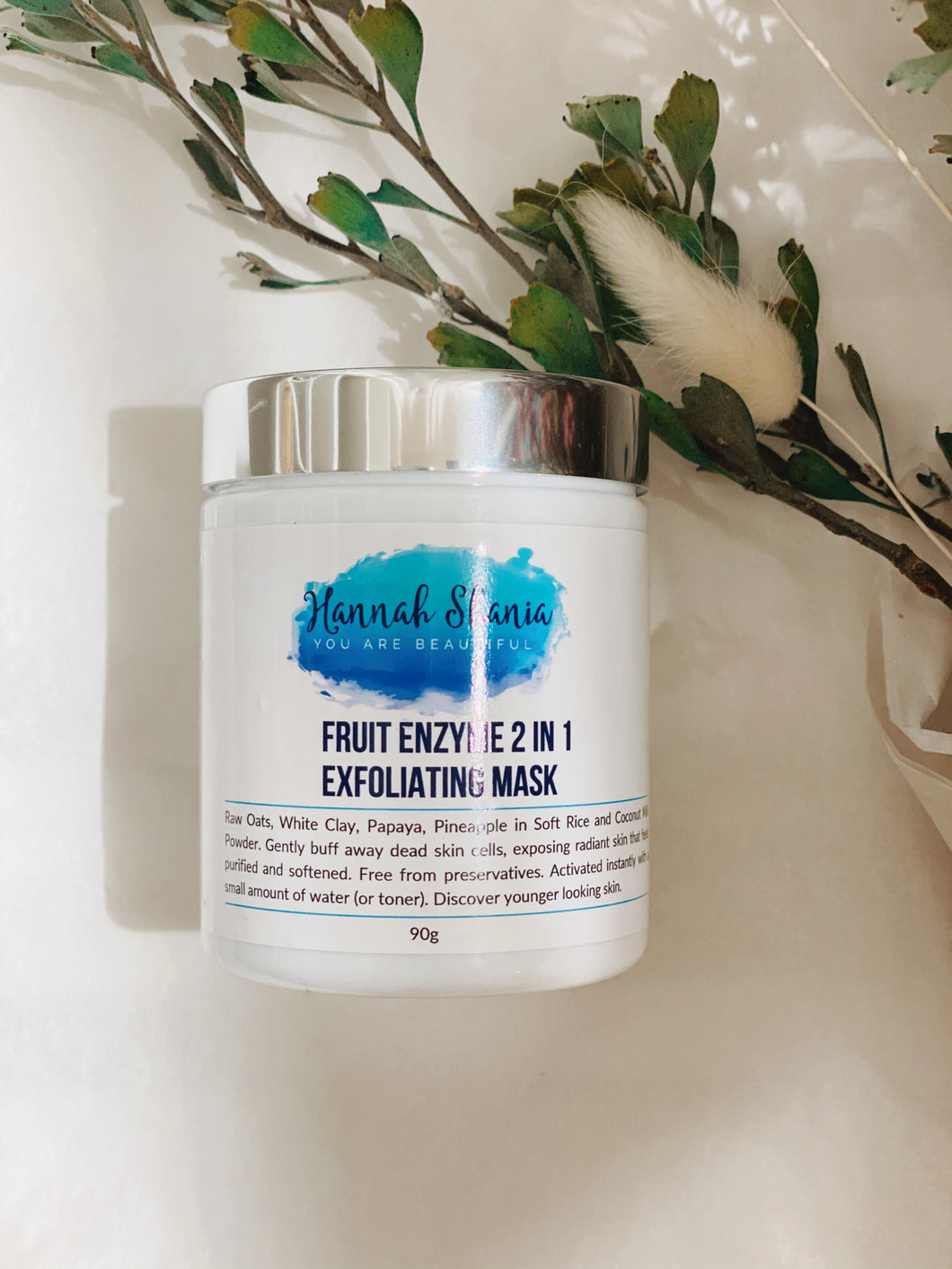 HANNAH SHANIA - FRUIT ENZYME 2 IN 1 EXFOLIATING MASK 70g