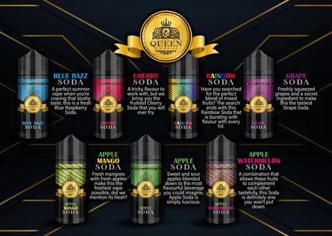 SODA QUEEN 100ML - CrazyCloudzzz | Hardware | Premium E Liquid | Accessories | Coils | Batteries