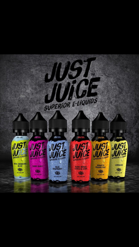 Just Juice e Liquid 0mg 50ml Shortfill - CrazyCloudzzz | Hardware | Premium E Liquid | Accessories | Coils | Batteries