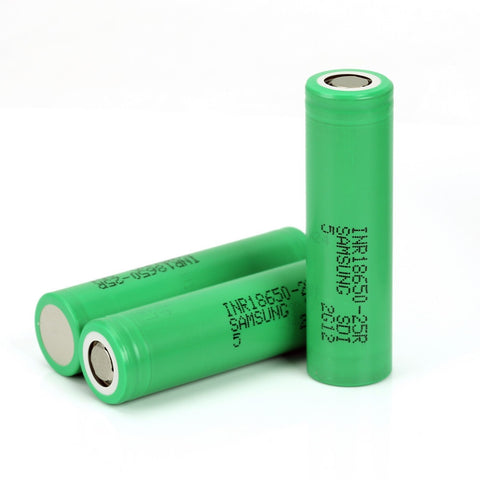 Samsung 25R 2500mAh 18650 Battery-CrazyCloudzzz | Hardware | Premium E Liquid | Accessories | Coils | Batteries