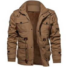 Winter Military Jacket Men.