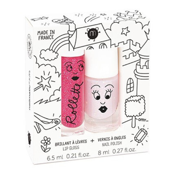 Pack pintauñas y brillo labial Fairytales