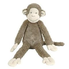 Monito de peluche musical marrón