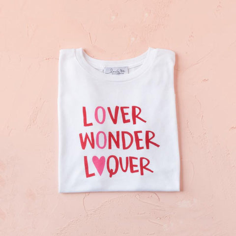 Camiseta Lover.Wonder.Loquer