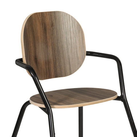 Trona evolutiva TIBU Walnut (nogal)