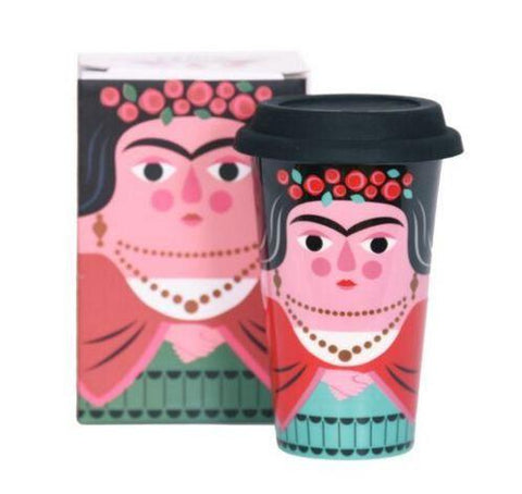Travel Mug Frida