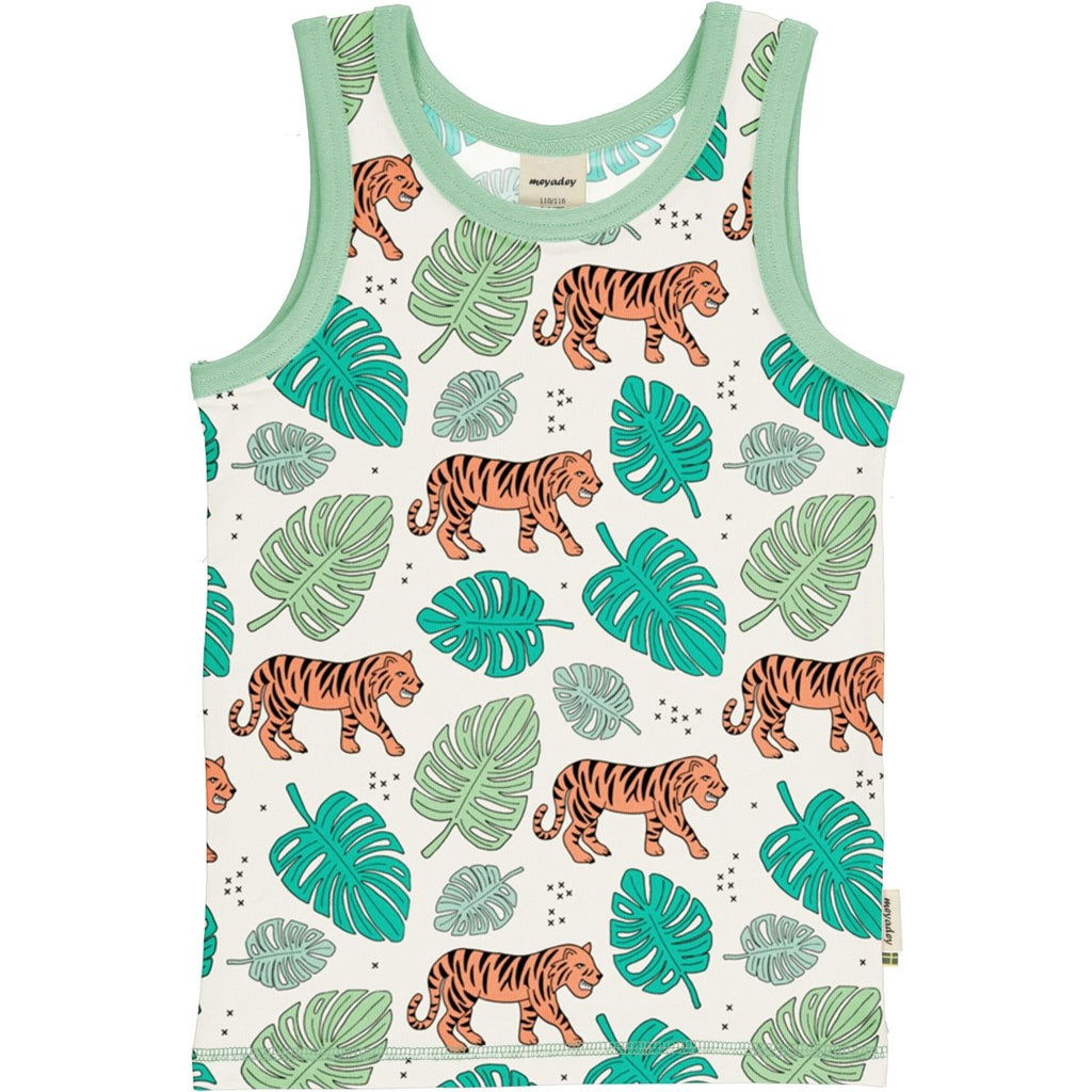 Camiseta tirantes Tiger Jungle Maxomorra
