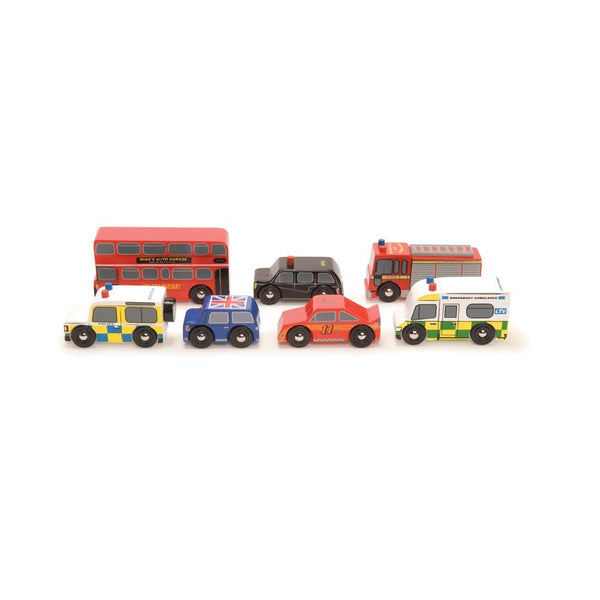 Set de coches London - juguetes, deco y ropa de kmfamily