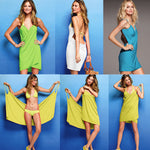 Bikini Wrap Dress - Assorted Colors - FashCity