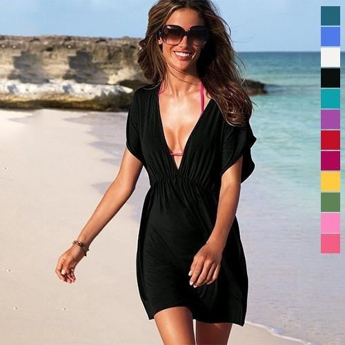 2 in 1 Swimsuit Coverup and Dress - FashCity