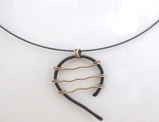 Wave Form Necklace