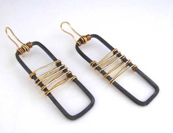 Wall Panel Earring