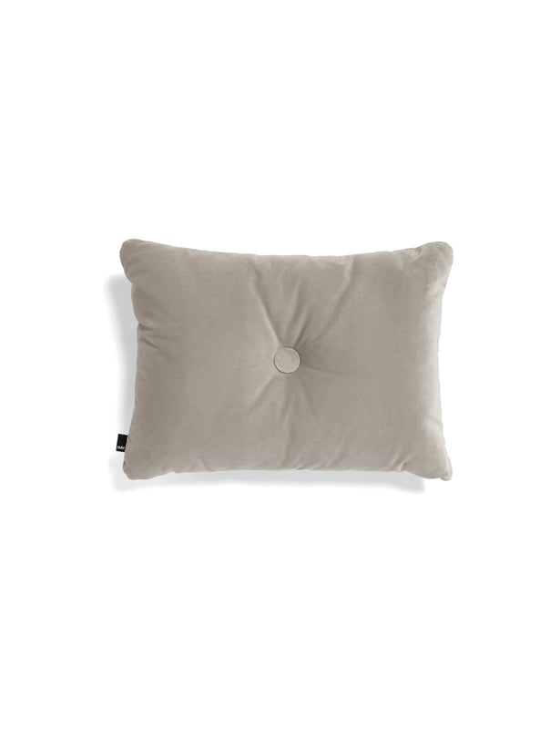 VELVET DOT PILLOW - BEIGE