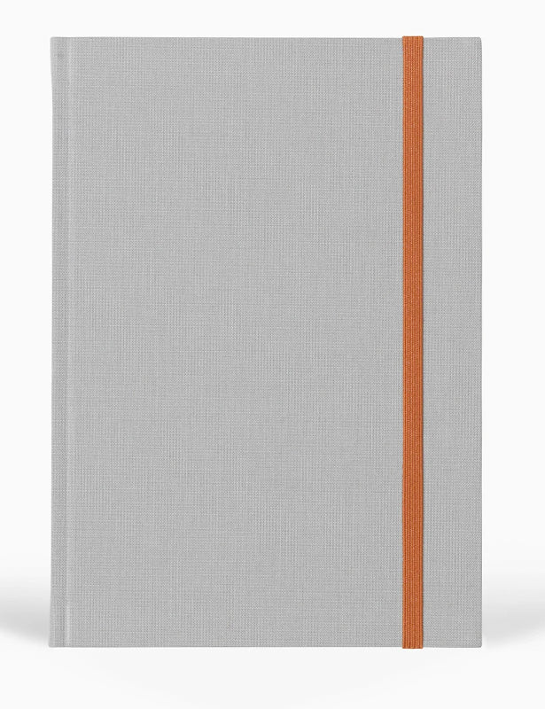 BEA NOTEBOOK - LIGHT GREY